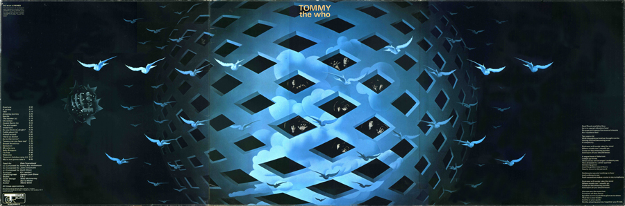 'Tommy' Tryptich Cover